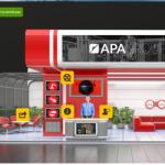 Stoisko APA Group na największych wirtualnych targach dostawców przemysłu
