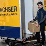 DACHSER dostarczy towary w Pradze elektrycznym rowerem