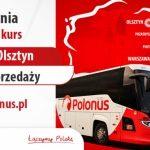 Polonus uruchamia połączenie między Warszawą i Olsztynem